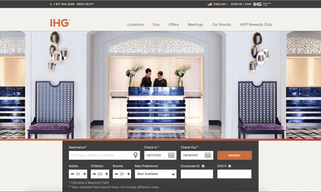 A Guide To IHG Corporate Codes缩略图