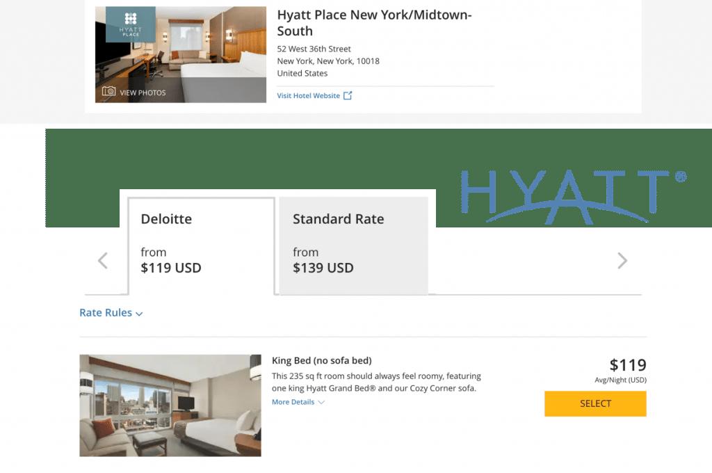 hyatt compare rates